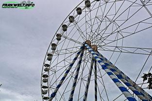 Riesenrad Skyline Park CAH Riesen Rad Attraktion