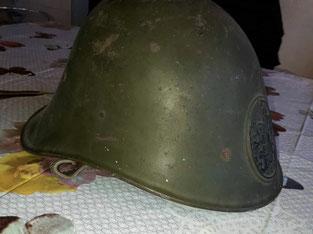 generaal Walthuis vooroorlogse helm.