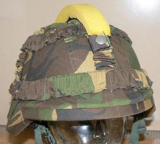 helm, M95, composiet, hanekam, oefenvijand, defensie