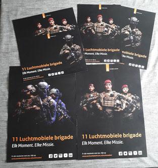 Luchtmobiel testposters, posters defensie