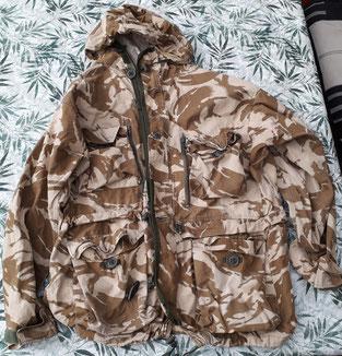 Nederlandse commando jas, smock, Engelse smock