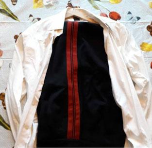 generaal Walthuis broek en blouse.