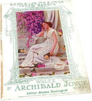 Грезы вальс Джойс ноты для фортепиано Давингоф обложка фото