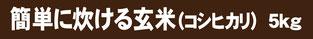 簡単玄米5k