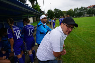 Trainerteam Spiel gg. Pfungstadt