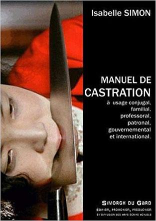 Couverture Manuel de castration Chronique littérature social femme homme guillaume cherel