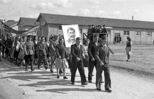 camps russe défilé mai