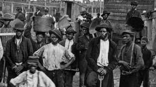 Gettho Black états-unis 1900