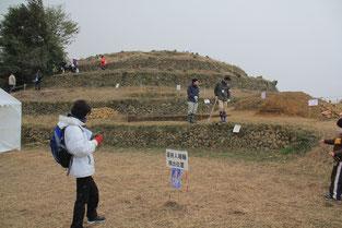 盾持ち人埴輪の出土場所