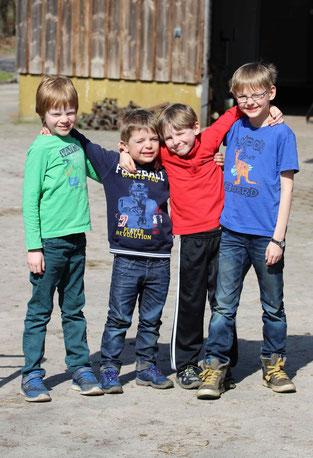 Kinder auf dem Krussenhof