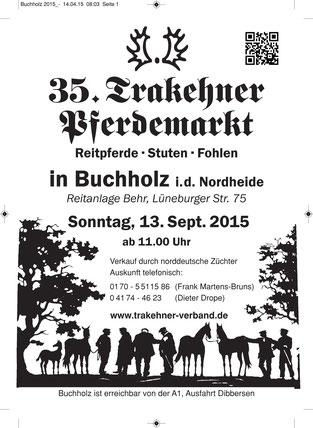 Trakehner Pferdemarkt Buchholz