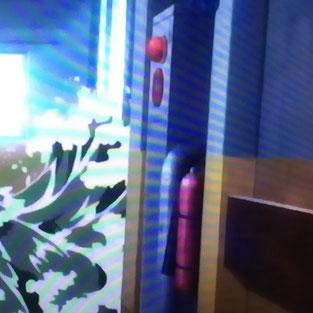 屋内消火栓のボックス