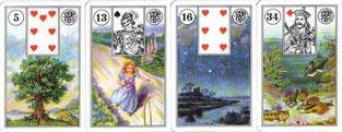 Beispiel 2 - Lenormand Karten
