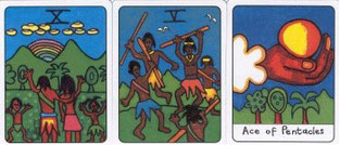 Beispiel African Tarot