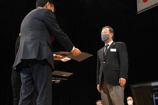 クラブLCIF理事長感謝状(20名以上が$1000以上) L.樋口会長