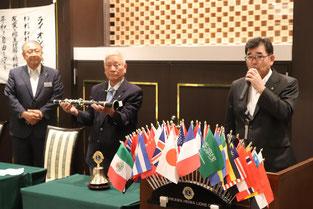 結成55周年記念大会 大会長 L.河上  哲