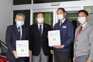 旭川赤十字血液センターへBOXティッシュ84セット