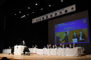 アクティビティを発表するCAB幹事L.窪田