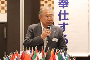 CABレオ・ライオネスクラブ委員長 L.粟田 和成