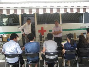6月の献血セミナーを受けて、7月には献血に参加してきました!