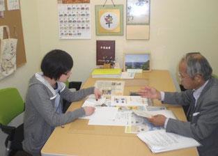 会議当日に向けて、養父本校 岡本 達治校長自ら事前指導に当たりました。
