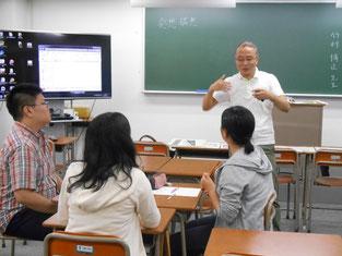 竹村先生の熱い指導