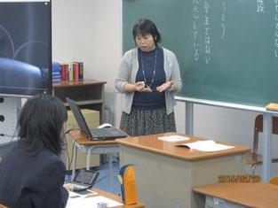 堀田あけみさんのしごと講話