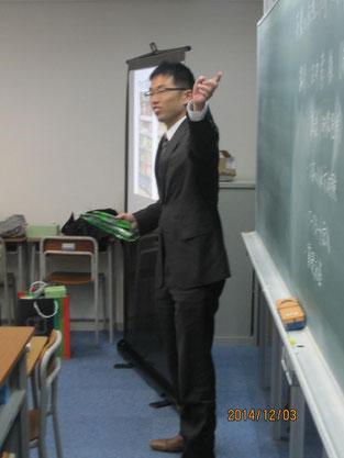 中尾さんによる講話。製茶について語っていただきました。