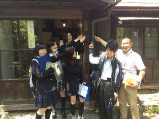 2年生Aチーム~櫻山神社~