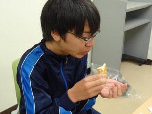 訓練食の試食