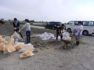 ボランティア活動を通じて、震災について改めて考えることができました
