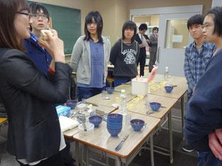柄澤先生の講話にみんな真剣です。
