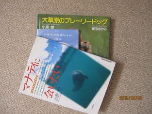 回覧した小原さんの写真集。
