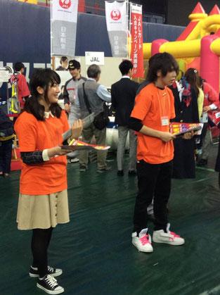 JALでのボランティア