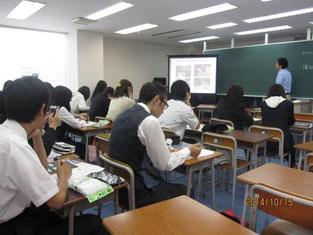小林富雄さんの授業風景