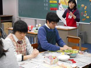 瀬口裕美香さんの食育講座。