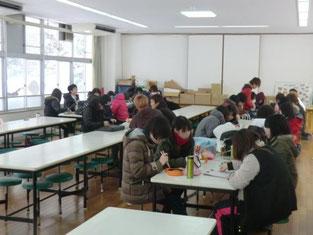 兵庫県養父市のご厚意により無料で昼食場所を提供して頂くことが出来ました。本校と行政機関とは信頼という絆で結ばれています。