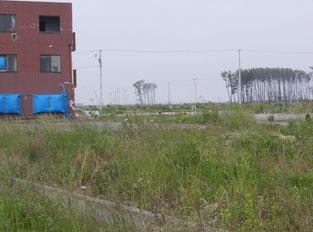 震災廃棄物はなくなりましたが、復興までにはまだまだ時間がかかります