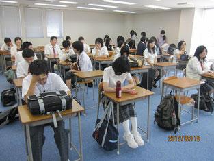 満員の教室