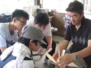 笠松競馬場の職員との対談