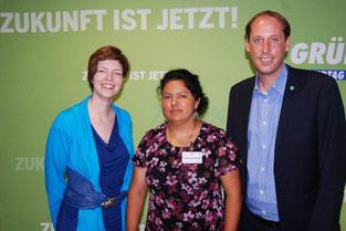 Berta Caceres, COPINH, Honduras, Landtag, Stefan Engstfeld, Wibke Brems, Grüne, Politiker