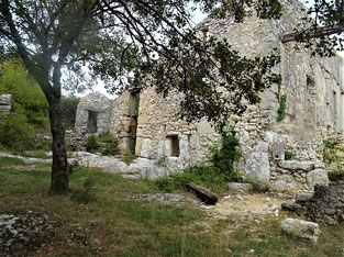 Autour du château de Javon : 27 septembre 2020