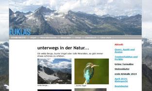 euklas.ch - Mineralien Schweizer-Alpen
