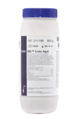 211199 BD BBL™ Agar Endo, 500 g