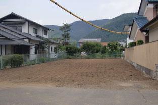 松本市里山辺宅地