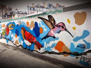© Photo Erwan Corre - Artistes fresque murale : #PP7 et #Deug