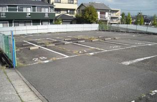 駐車場工事 施工前写真