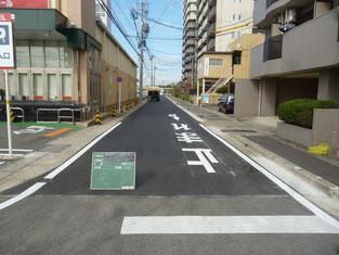 道路舗装工事 施工後写真