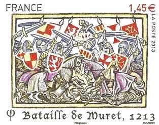 Bataille de Muret (1213). Temple de Paris