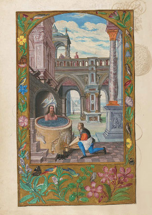 La Décoction, f. 21v. Temple de Paris